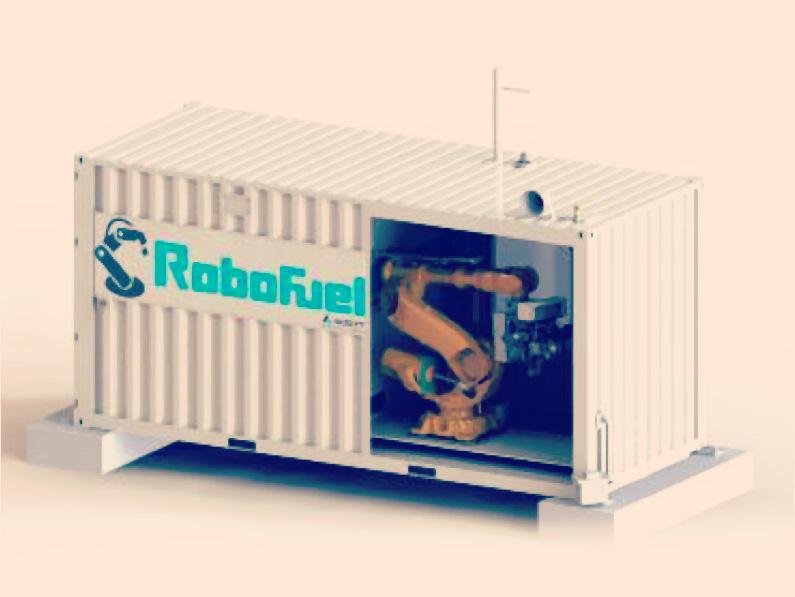 MODULO ROBOT ABASTECIMIENTO DE COMBUSTIBLE A CAMIONES CAEX